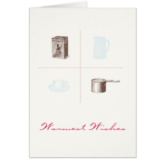 Warmest Wishes Hot Cocoa Holiday Card