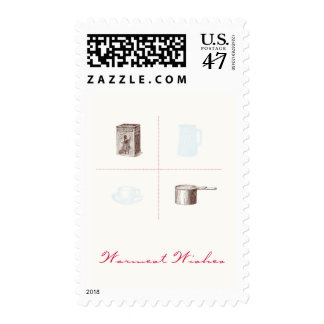 Warmest Wishes Hot Cocoa Postage