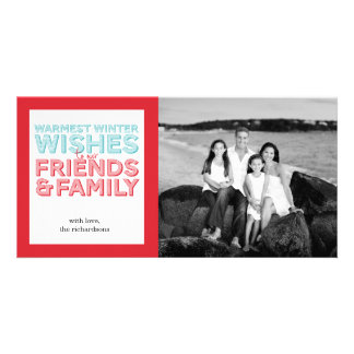 Warmest Wishes Photo Card