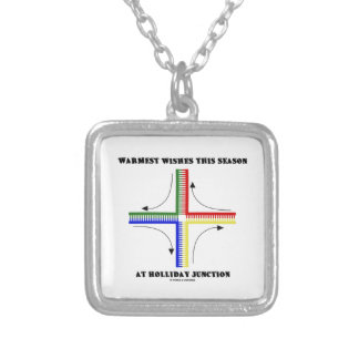 Warmest Wishes This Season At Holliday Junction Personalized Necklace