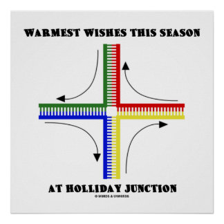 Warmest Wishes This Season At Holliday Junction Poster