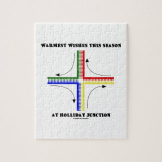 Warmest Wishes This Season At Holliday Junction Puzzle