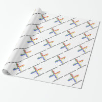 Warmest Wishes This Season At Holliday Junction Wrapping Paper