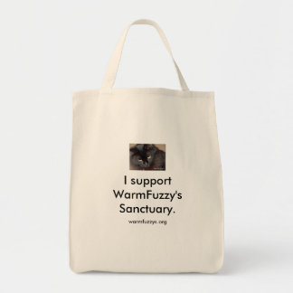 WarmFuzzy's Tote Bag