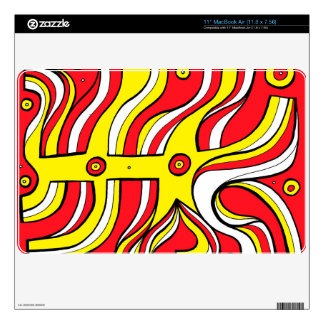 Warmhearted Inventive Thrilling Active MacBook Air Skin