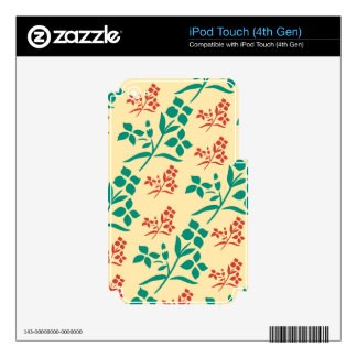 Warmhearted Shy Cool Truthful Decals For iPod Touch 4G
