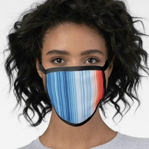 Warming Stripes Face Mask
