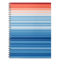 Warming Stripes Notebook