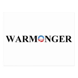 WARMONGER POSTCARD