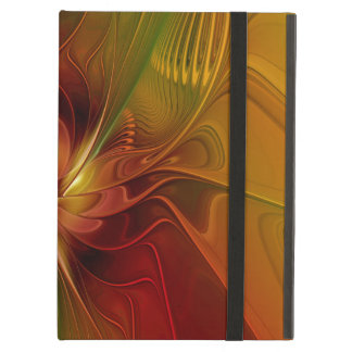 Warmth, Abstract Fractal Art iPad Air Covers