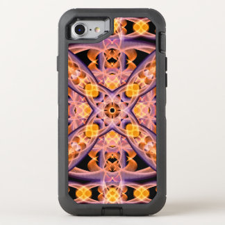 Warmth Mandala OtterBox Defender iPhone 8/7 Case