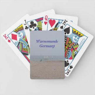 Warnemunde Germany Bicycle Playing Cards