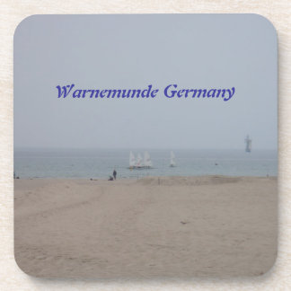 Warnemunde Germany Drink Coaster