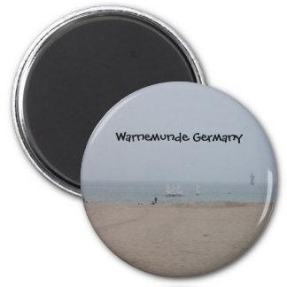 Warnemunde Germany Fridge Magnet