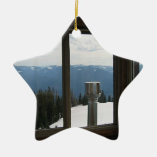Warner Mountain Fire Lookout Christmas Ornaments