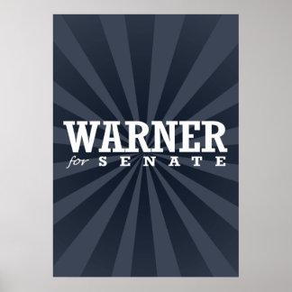 WARNER PARA EL SENADO 2014 POSTERS