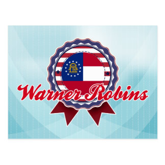 Warner Robins, GA Postcard