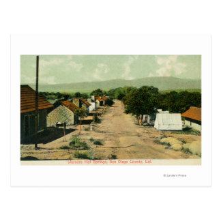 Warners Hot Springs ViewSan Diego County, CA Postcard