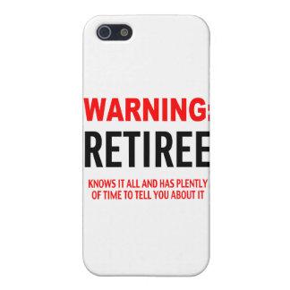 Warnig Jubilado iPhone 5 Coberturas