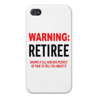 Warnig Jubilado iPhone 4/4S Carcasas
