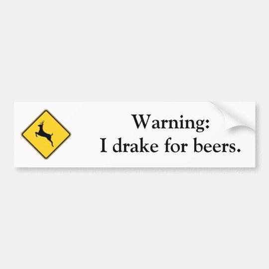 warning-01 bumper sticker