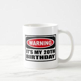 Warning 20 coffee mugs