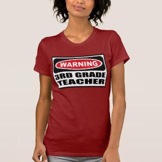 Warning 3RD GRADE TEACHER Women's Dark T-Shirt
