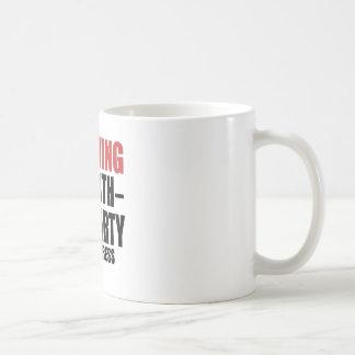 Warning 92 Birthday Party In Progress Coffee Mug