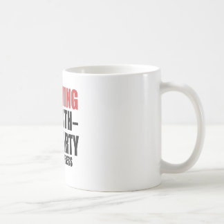 Warning 99 Birthday Party In Progress Coffee Mug