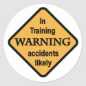 Warning Accidents Likely Tshirts and Gifts
