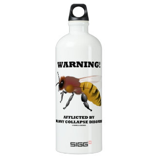 Warning! Afflicted By Colony Collapse Disorder SIGG Traveler 1.0L Water Bottle