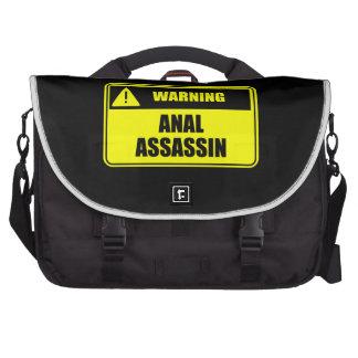 Warning Anal Assassin Commuter Bags