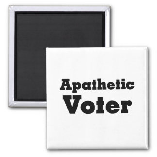 Warning apathetic voters ahead magnet
