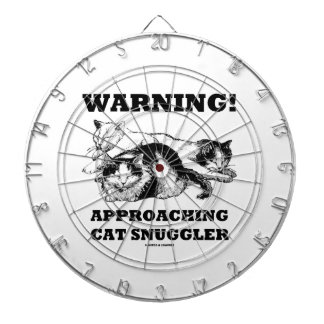 Warning! Approaching Cat Snuggler Three Cats Dartboards