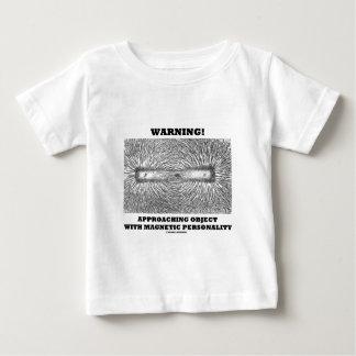 Warning! Approaching Object Magnetic Personality Shirt