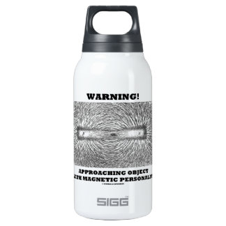 Warning! Approaching Object Magnetic Personality Thermos Bottle