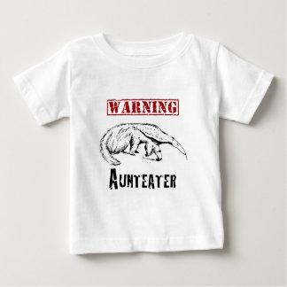 *Warning* Aunteater - Anteater Baby T-Shirt