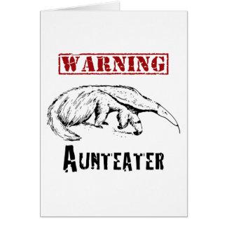*Warning* Aunteater - Anteater Card