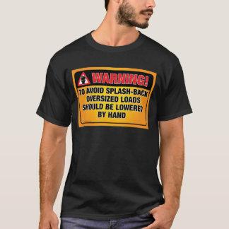 WARNING - Avoid Splash-Back Bathroom Shirt