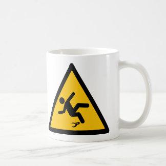 Warning Banana Peel Slippery Mugs