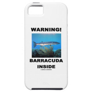 Warning! Barracuda Inside iPhone SE/5/5s Case
