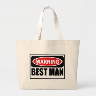 Warning BEST MAN Bag