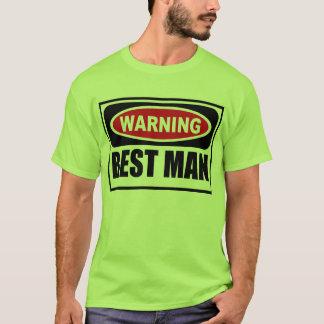 Warning BEST MAN Men's T-Shirt