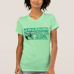 Warning- Beware of Flying Objects! T Shirt