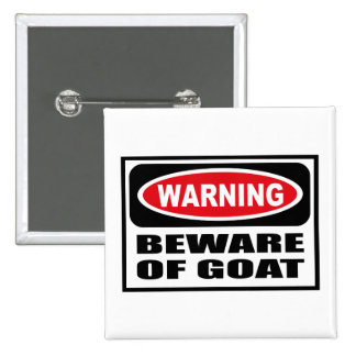 Warning BEWARE OF GOAT Button