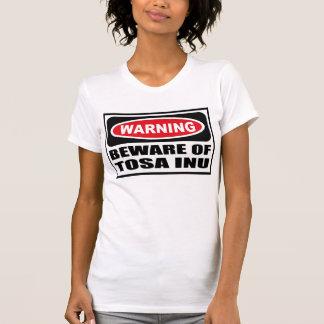 Warning BEWARE OF TOSA INU Women's T-Shirt