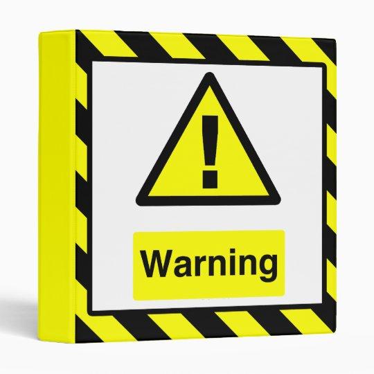 Warning Binder