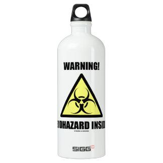 Warning! Biohazard Inside (Signage Humor) SIGG Traveler 1.0L Water Bottle