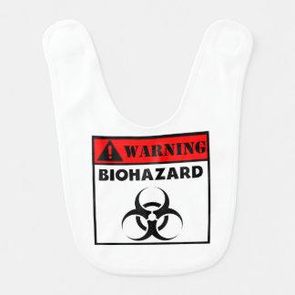 Warning Biohazard Bib