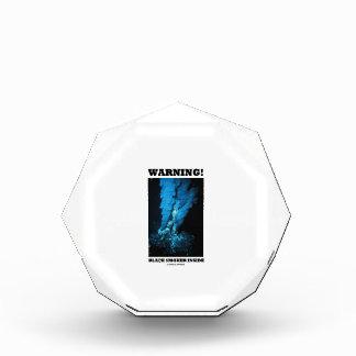 Warning! Black Smoker Inside (Sea Vent) Acrylic Award